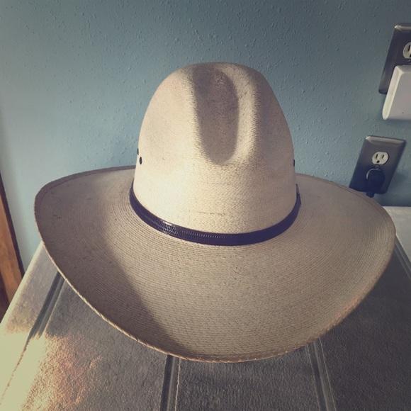 30X Palm Leaf Gus Cowboy hat. M 5b19c19b534ef9b39af0b0bb 5231ec131a4